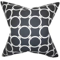 Betchet Geometric Euro Sham Black