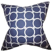 Betchet Geometric Euro Sham Blue