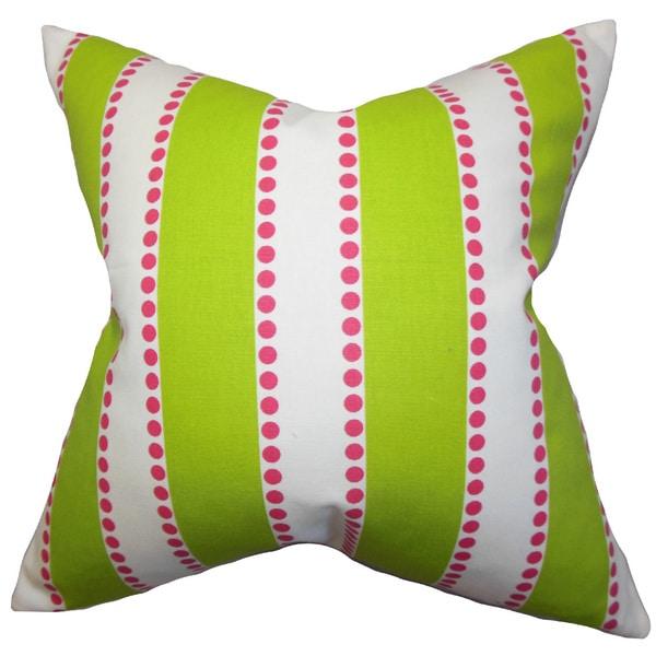 Odienne Stripes Euro Sham Green