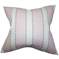 Odienne Stripes Euro Sham Pink