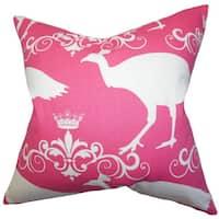 Flannery Animal Print Euro Sham Pink