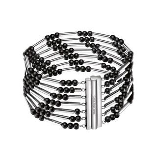 Calvin Klein Chaplet White Stainless Steel Women's Fashion Bracelet
