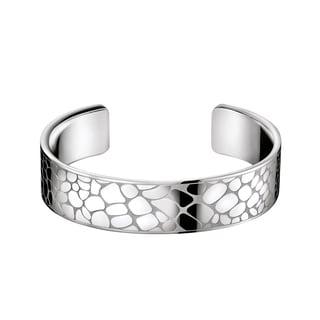 Calvin Klein Instinctive Women's White Stainless Steel Fashion Bracelet