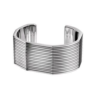 Calvin Klein Women's 'Geometric' Stainless Steel Fashion Bracelet