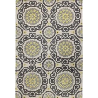 Summer Tufted Wool Area Rug (4' x 6') - 4' x 6'