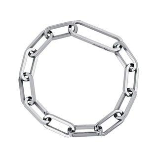 Calvin Klein Brisk Women's White Stainless Steel Fashion Bracelet