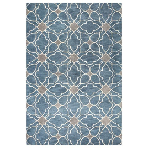 "Kiara Tufted Wool Area Rug - 3'6"" x 5'6"""