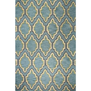 Leah Tufted Wool Area Rug (9' x 12')