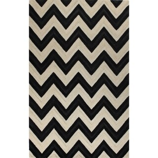 Isabela Off-white Tufted Wool Isabel Area Rug (9' x 12')