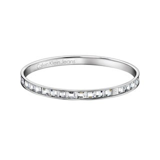 Calvin Klein Glint Women's White Stainless Steel Fashion Bracelet