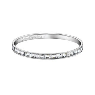 Calvin Klein Glint Women's White Stainless Steel Fashion Bracelet