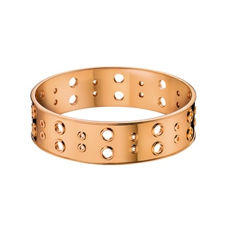 Calvin Klein Notch Women's Rose Gold PVD-coated Stainless Steel Fashion Bracelet