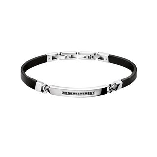 Calvin Klein Reflective Stainless Steel Cubic Zirconia Women's Fashion Bracelet
