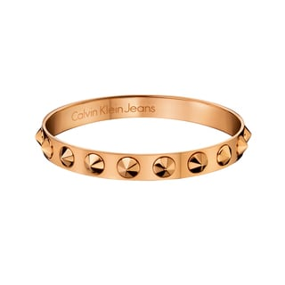 Calvin Klein Rose Gold PVD-coated Stainless Steel Fashion Bracelet