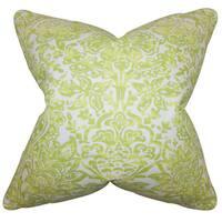 Daija Floral Euro Sham Green