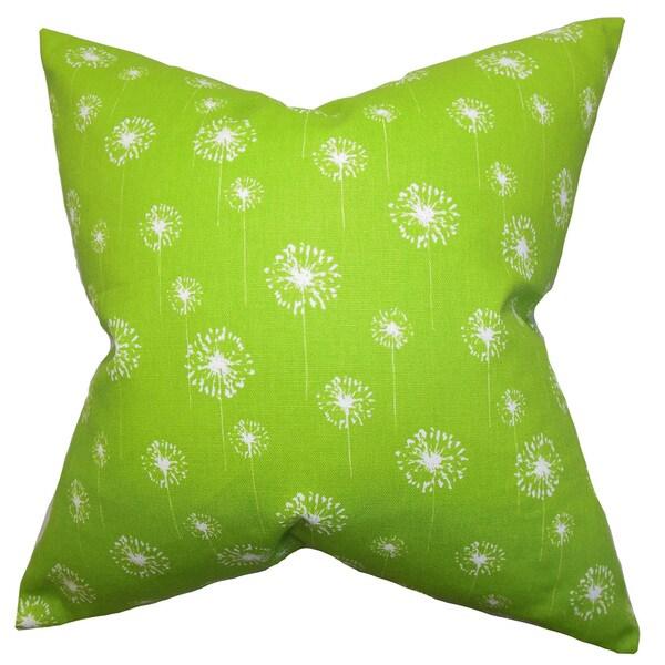 Joop Floral Euro Sham Green