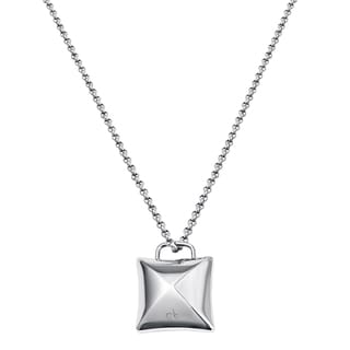 Calvin Klein Women's Domed Stainless Steel 31-inch Fashion Necklace