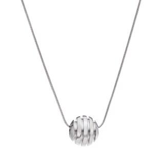 Calvin Klein Fractal Women's Stainless Steel Snake Chain Fashion Necklace