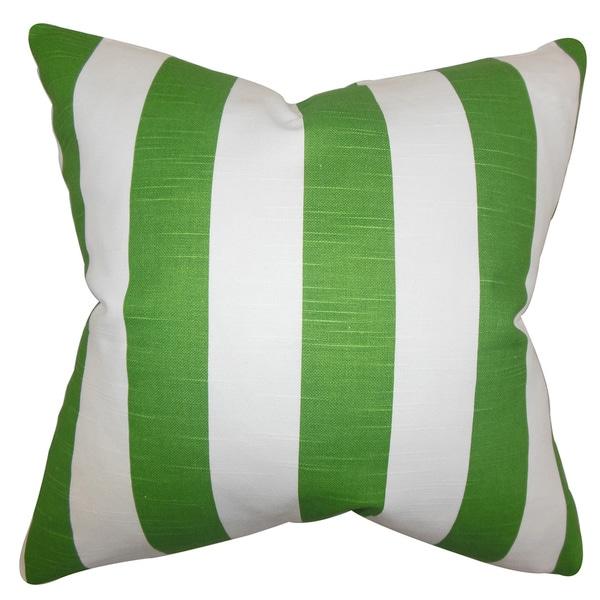 Acantha Stripes Euro Sham Green