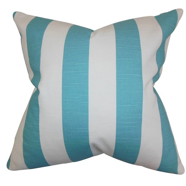 Acantha Stripes Euro Sham Coastal Blue