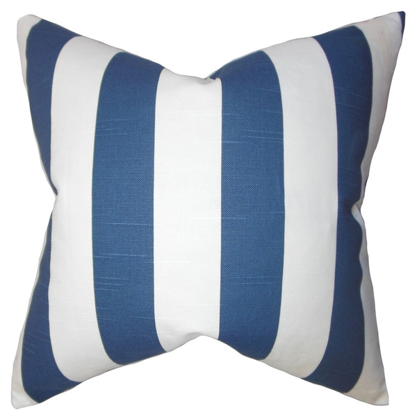 Acantha Stripes Euro Sham Blue
