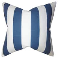 Acantha Stripes Euro Sham Blue