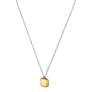 Calvin Klein Women's Placid Stainless Steel and Yellow Gold PVD-coated Fashion Necklace