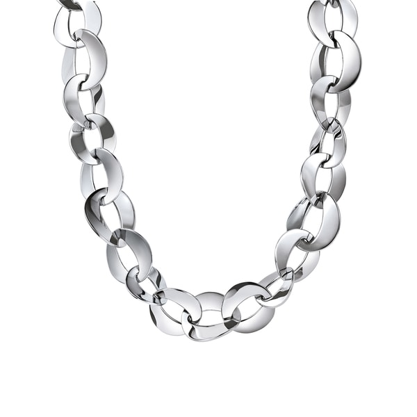 Shop Calvin Klein Pleasant Stainless Steel Women s Fashion Necklace - On  Sale - Free Shipping Today - Overstock - 12886731 4d2979dc09