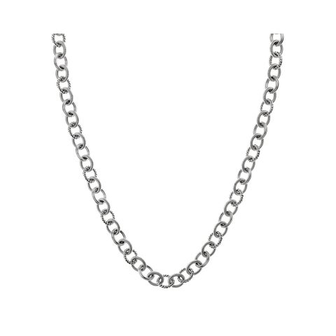 Calvin Klein Waves Stainless Steel Women's Cable Chain Fashion Necklace