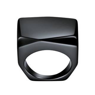 Calvin Klein Women's Onyx Square Fashion Ring