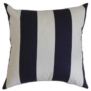 Leesburg Stripes Euro Sham Blue White