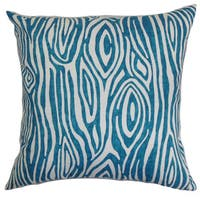 Thirza Swirls Euro Sham Aquarius Slub