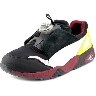 Alexander McQueen By Puma Men's 'Mcq Disc' Black Nubuck Athletic Shoes