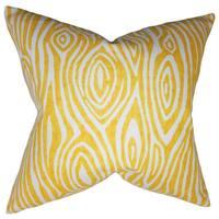 Thirza Swirls Euro Sham Yellow