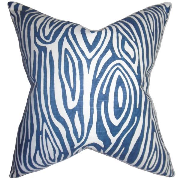 Thirza Swirls Euro Sham Blue