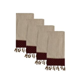 Sherry Kline Antoinette Ecru Hand Towel (set of 4)