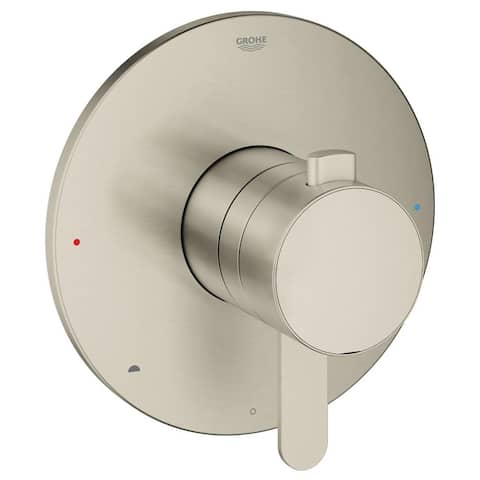 Grohe Europlus Dual Function Pressure Balance Trim with Control Module Brushed Nickel