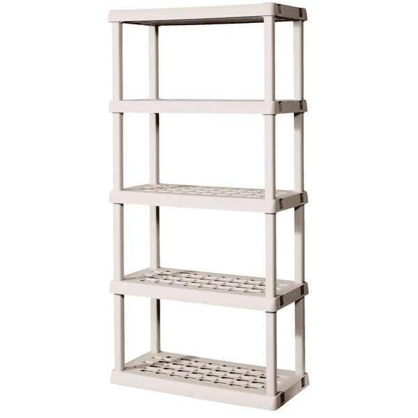 Sterilite 01558501 5 Shelf Shelving Unit Free Shipping