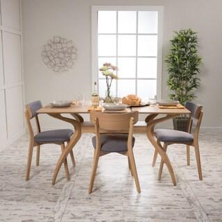 Christopher Knight Home Fauna 5-Piece Rectangular Dining Set