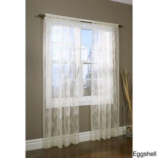 Mona Lisa Lace Window Curtain Panel