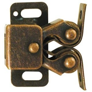 Ultra Hardware 13510 Antique Copper Double Roller Catch