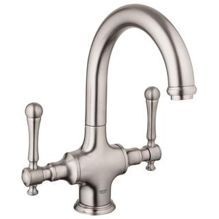 Grohe Bridgeford 2-Handle Bar Kitchen Faucet in Brushed Nickel