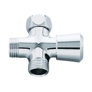 Grohe Shower Arm Diverter in Starlight Chrome
