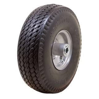"Marathon Industries 00010 10"" Sawtooth Flat Free Hand Truck Tire"