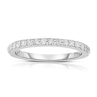 Noray Designs 14K White Gold 0.4ct Diamond Wedding Band