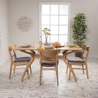 Christopher Knight Home Idalia Rectangular 5-Piece Dining Set