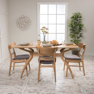 Carson Carrington Ballerup Rectangular 5-piece Dining Set by