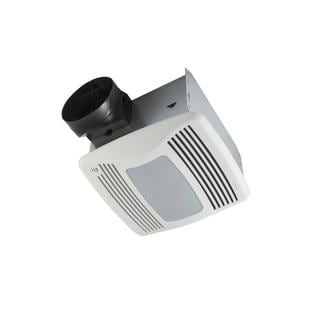 NuTone QTXEN Series Very Quiet 110 CFM Ceiling Humidity Sensing Exhaust Bath Fan with Light/Night Light, ENERGY STAR Qualified