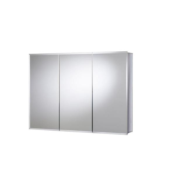 Croydex 36 In X 26 In Recessed Or Surface Mount Tri View