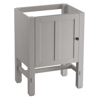 KOHLER Tresham 23-3/4 in. x 18-1/4 in. x 32-1/2 in. Vanity Cabinet in Mohair Grey